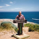 At Cape Leeuwin, where the Southern and Indian Oceans meet