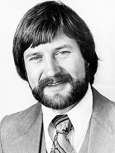 A young Derryn Hinch in New York Circa 1970
