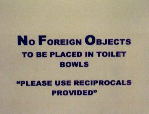 Foreign Objects...