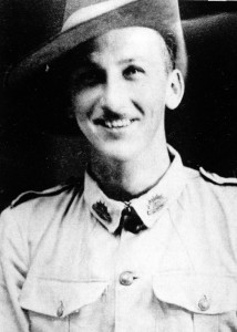 A young Chris Neilson enlisting in the AIF in 1940