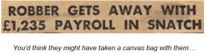 Payroll Snatch