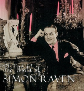 Simon Raven in his younger, prettier days