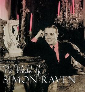 Simon Raven in his younger, prettier days