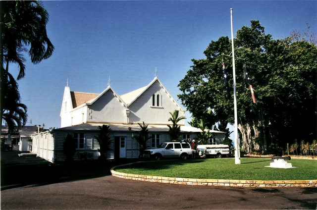 Government House in Darwin, our temporary home away from home...