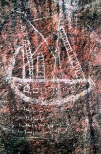 Walga Rock ship