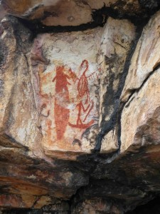 11 Entrance paintings to Left Hand Cave